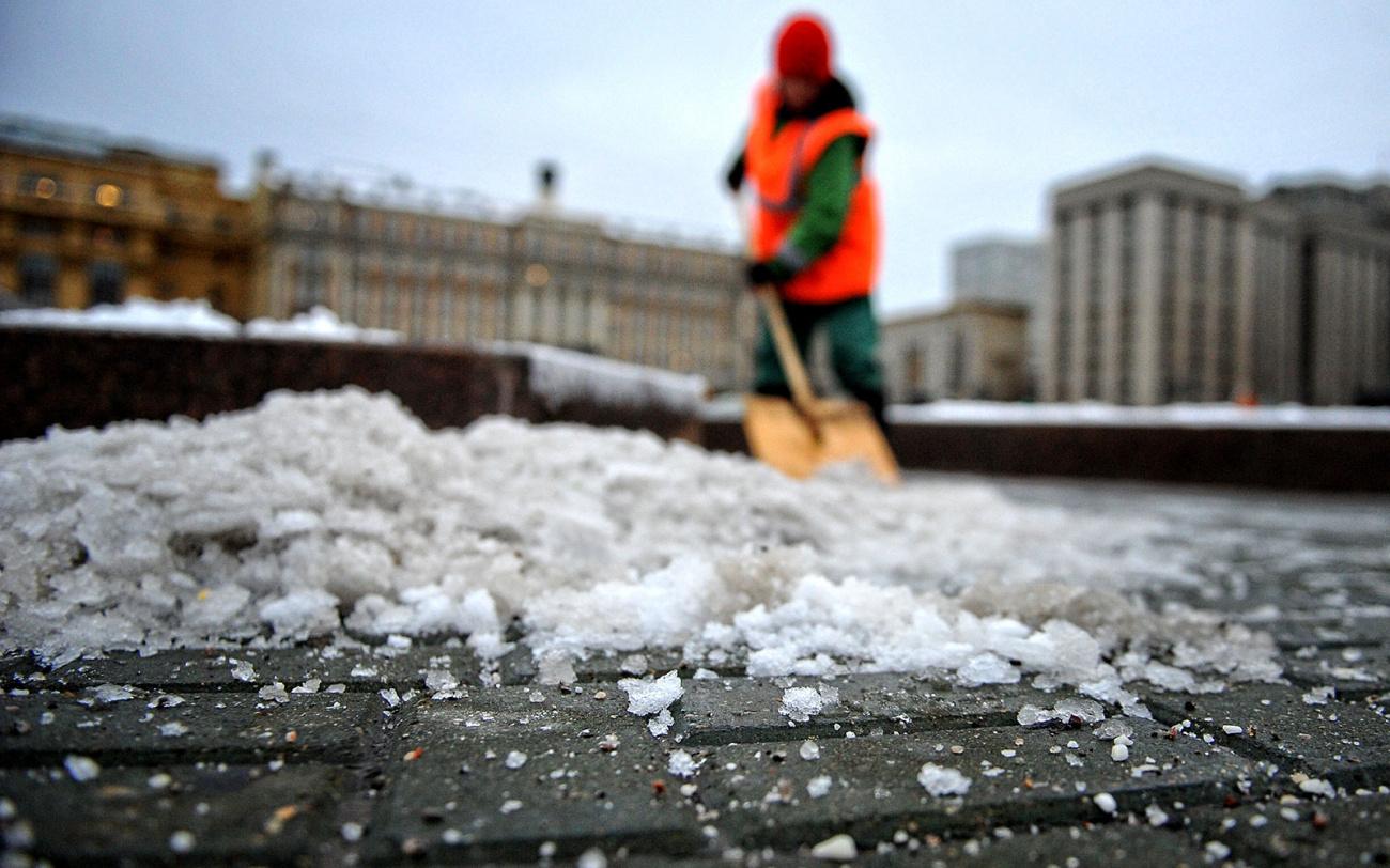 Дорожная соль. Как она вредит окружающей среде?