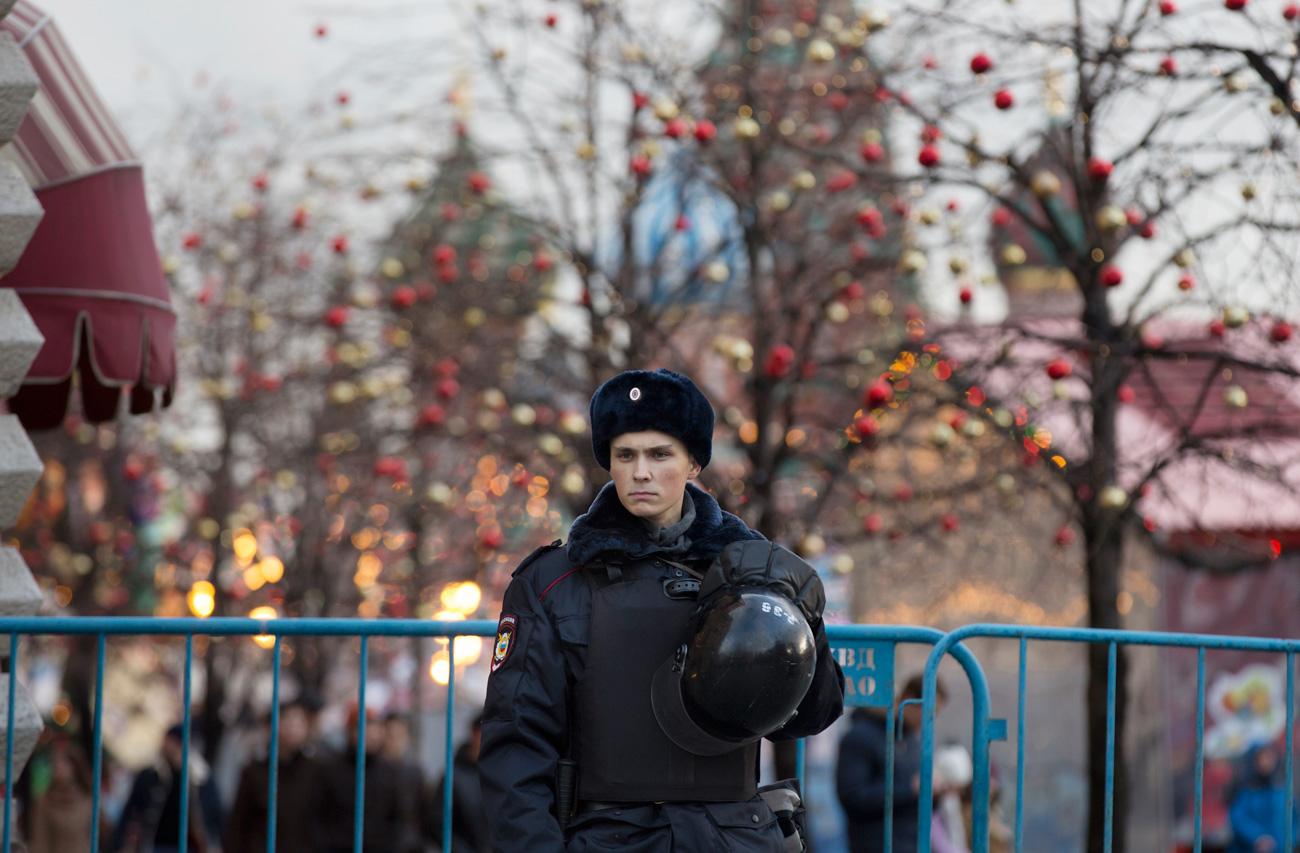Где будет полиция на новый год