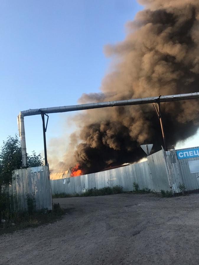 пожар в наро фоминске сейчас фото